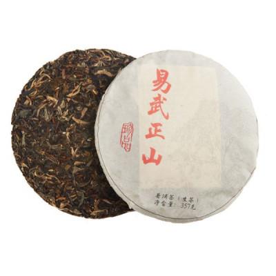 И У Чжен Шань   блин 357 г / 100 г купить в интернет магазине чая MrTea.ru