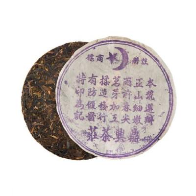 Муслим шен пуэр   блин 357 г / 100 г купить в интернет магазине чая MrTea.ru