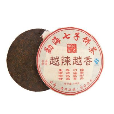 Чем выдержаннее, тем ароматнее | блин 357 г  / 100 г купить в интернет магазине чая MrTea.ru