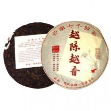Юэ Чэнь Юэ Сян   Чем старше, тем ароматнее   блин 357 г