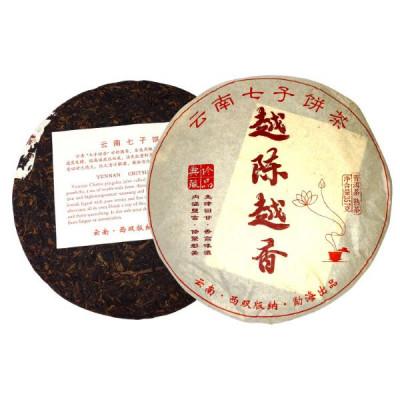 Юэ Чэнь Юэ Сян | Чем старше, тем ароматнее | блин 357 г / 100 г купить в интернет магазине чая MrTea.ru