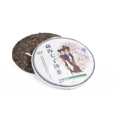 Ци Цзе Бин   блин 400 г  / 100 г купить в интернет магазине чая MrTea.ru
