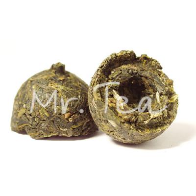 Зелёный Пуэр Точа (Шэн) | 2004 года / 100 г купить в интернет магазине чая MrTea.ru